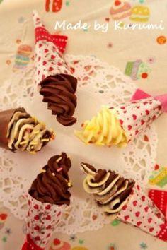 「【バレンタイン】ちょこっとソフト」くるみ | お菓子・パンのレシピや作り方【corecle*コレクル】