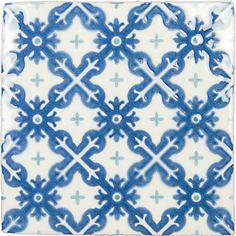 Castle Fredensborg Papyrus 13×13 | Mosaikhjørnet - Fliser, klinker og mosaik til badeværelse og køkken