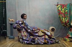 Vlisco introduces Hommage à l'Art photographed by Koen Hauser.In line with this year's focus on craftsmanship, Vlisco puts its iconic designs in the spotlight with a new fabric collection that celebrates the rich design heritage. African Inspired Fashion, Africa Fashion, Morocco Fashion, African Fabric, African Art, African Prints, African Style, African Women, African Dress