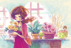flower shop by tuyetdinhsinhvat.deviantart.com on @deviantART