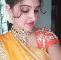 Sneha Preeta and Sridevi Jewellery Beautiful Girl Indian, Beautiful Girl Image, Beautiful Saree, Beautiful Indian Actress, Nose Ring Jewelry, Nose Ring Stud, Nose Rings, Indiana, Indian Nose Ring
