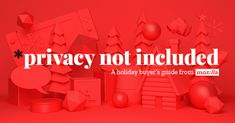 A Guide to Make Shopping for Connected Gifts Safer, Easier, and Way More Fun: This holiday season, learn which gadgets come with privacy included, using Mozilla's buyer's guide for connected gifts. Holiday Gift Guide, Holiday Gifts, Buyers Guide, Christmas Traditions, More Fun, 3 D, Gadgets, Internet, Hands