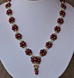 Pirates Treasure Necklace Pattern - Item Number 18433 at Bead-Patterns.com