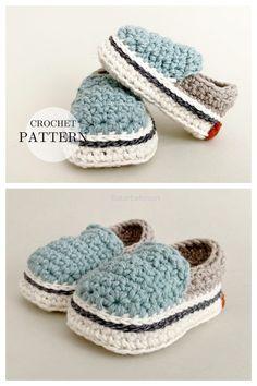 Vans Style Baby Sneakers Crochet Pattern Baby Booties Free Pattern, Crochet Shoes Pattern, Baby Shoes Pattern, Baby Patterns, Crochet Patterns, Crochet Baby Boots, Crochet Baby Clothes, Baby Christmas Hat, Crochet Converse