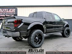 2014 Ford Raptor with Fuel Hostage Wheels Raptor Truck, Svt Raptor, 2014 Ford Raptor, Chevy Reaper, Fords 150, Jeep Suv, Ford F Series, Lifted Trucks, Pickup Trucks