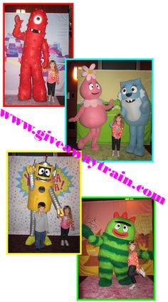 #yogabbagabba live!!! VIP Passes to meet the characters!