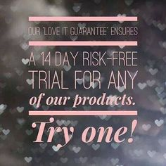 """Buy any Younique product risk free for 14 days with our """"LOVE IT"""" guarantee.  Browse my site:  www.youniqueproducts.com/PamKey"""
