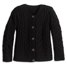 eb8fc8f96bf Women s Merino Wool Irish Cardigan