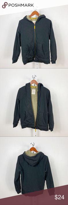 faee4ab8397e Mini Boden Gray Tan Sherpa Lined Zip Up Hoodie Mini Boden Gray Tan Sherpa  Lined Zip