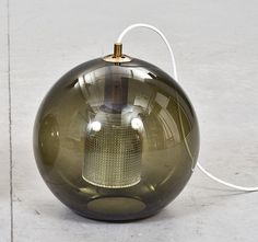 """Celing lamp """"RD 1405"""" by Carl Fagerlund for Orrefors."""