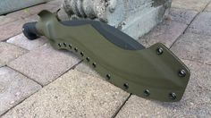 KaBar Kukri Custom Kydex Knife Sheath OD Green, for the 1249 Model in Collectibles, Knives, Swords & Blades, Fixed Blade Knives | eBay