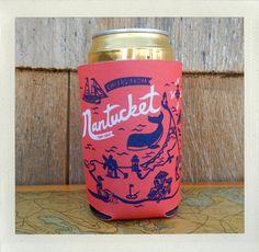 Nantucket Koozie by CABOCADO on Etsy, $5.00