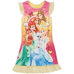 Disney Princesses Palace Pets Girls' Nightgown