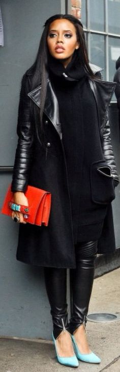 Dress up in Black...Cool Clutch