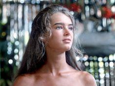 Sobrancelhas anos 80 Brooke Shields