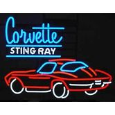 Found it at Wayfair - GM Corvette Stingray Neon Sign