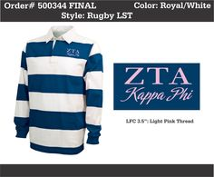 Zeta Tau Alpha Rugby  http://www.greekt-shirtsthatrock.com/