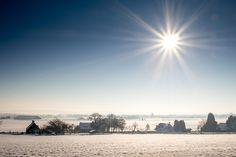 Black and White  Winter Groesbeek