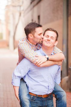 Justin and Nathan's Washington, D.C. Engagement Session (Photo by Casey Hendrickson Photography)