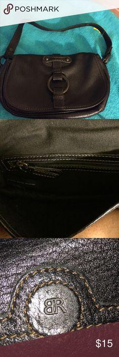 Banana Republic black leather mini pocketbook Banana Republic black leather mini pocketbook. Has inside zippered pocket. Magnetic closure. Excellent condition. Banana Republic Bags Mini Bags