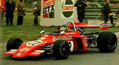"Ronnie Peterson - March 722 [722-17] Ford BDF/Cosworth - STP March Engineering - XXVII Esso Uniflo B.A.R.C. ""200"" (Thruxton Circuit) - II Jochen Rindt Memorial Trophy - 1972 European Championship for Formula 2 Drivers, Round 2 - III John Player British F2 Championship, Round 3"
