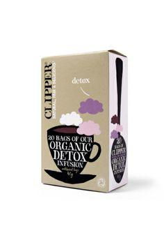 Clipper Teas - Organic Detox Infusion - 20 Bags (Case of Clipper Tea, Aloe Vera Powder, Detox Organics, Used Tea Bags, Tea Packaging, Tea Infuser, Detox Tea, Packaging Design Inspiration, Tea Time