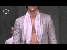 Jon Kortajarena for GIORGIO ARMANI UOMO P E-2008 Milan FW (Full Show) Jon Kortajarena, Versace, Full Show, Giorgio Armani, Milan, Fashion, Moda, Fashion Styles, Fashion Illustrations