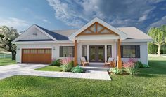 2 bed / 2 bath house with only 928 square feet! Plan No.580928 House Plans by WestHomePlanners.com Ranch House Plans, Best House Plans, Small House Plans, 2 Bedroom House Plans, 2 Bedroom House Design, One Floor House Plans, Ranch Style Floor Plans, Retirement House Plans, Garage House Plans