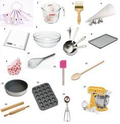 Passionatemae: Kitchen Essentials Part 1 : Basic Baking Tools