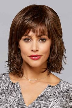 Paige by Henry Margu Wigs – hair bangs long Medium Hair Cuts, Medium Hair Styles, Short Hair Styles, Hairstyles For Round Faces, Wig Hairstyles, Haircuts, Casual Hairstyles, Henry Margu Wigs, Best Wig Outlet