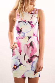 La Cosma Dress Purple