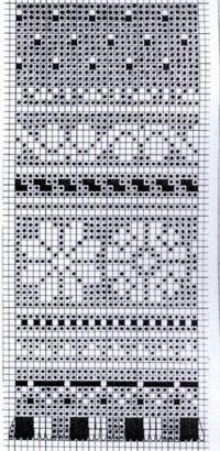 filet or fair isle pattern Knitted Mittens Pattern, Fair Isle Knitting Patterns, Knitting Charts, Knitting Designs, Knitting Stitches, Motif Fair Isle, Fair Isle Chart, Knit Stranded, Groomsmen