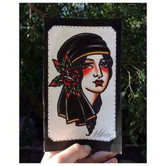 Esta linda Cigana está Disponível por um Preço Super Especial desenho por Melina Dias @melina.dias Galeria do Rock 1º andar Loja 228 Centro - SP.  11 3223-4174 11 99215-0289 Seg a Sex. 10h às 19h - Sab 10h às 18h studiotat2@yahoo.com.br www.tat2.com.br  #sp #saopaulo #galeriadorock #centrosp #studiotat2 #tat2  #neotradicional #realismo #tribal #oriental #tradicional #oldschool #linework #dotwork #blackwork #pontilhismo #tattoo #tatuagem #tatuaje #inspirationtatto #tatuagemmasculina…