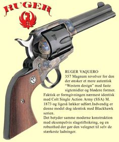 RUGER VAQUERO 357 Magnum. I want this!! Got my husband one a few years ago and now I want one!!! I love the blueing!