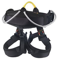 Protect Waist Climbing Harness Oumers Protect Leg Waistbelt Wider Safe Seat Belts For Mountaineering Fire Rescue Higher Level Caving Rock Climbing Rappelling Equip Women Man Child Half Body Black ** Click image to review more details. This is an Amazon Affiliate links.