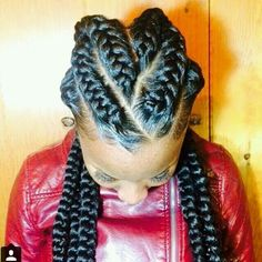 Peachy Big Cornrows And Cornrows On Pinterest Hairstyle Inspiration Daily Dogsangcom