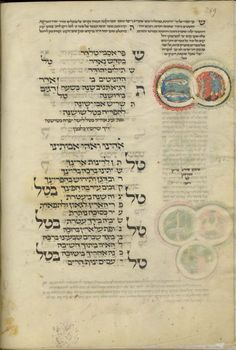 Mahzor 1320 Germany Hebrew manuscript depicting a man wearing a bycocket. Ashkenazi Jews, Academy Of Sciences, 14th Century, Israel, Astrology, Philosophy, Medieval, Ms, Religion