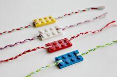Kids' LEGO Friendship Bracelets Valentine Gift