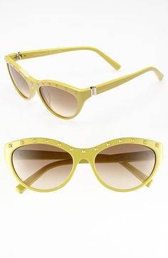 Valentino 54mm 'Rockstud' Cat's Eye Sunglasses (Online Only) available at #Nordstrom