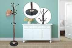 12-Peg Hat & Coat Stand