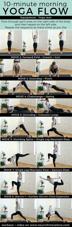 8 Energizing Yoga Poses | yoga I yoga for beginners I yoga poses I yoga inspiration I yoga workout II Nourish Move Love #yoga #yogainspiration #stretching