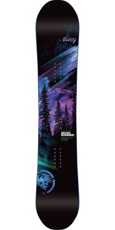 Never Summer Raven Snowboard - Women's 2014 this winter I will master snowboarding...I think this board can help.. ;)