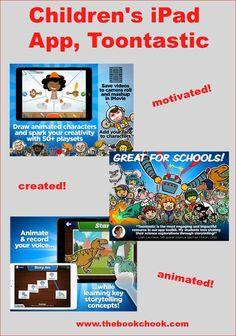 The Book Chook: Children's iPad App, Toontastic