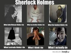 *What Sherlock actually does*