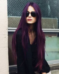 Amethyst Purple Tones - The Best Jewel Tone Hair on Pinterest  - Photos