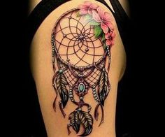 lace dreamcatcher tattoos - Google Search