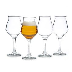 Beer Sommelier Glasses - Set of 4 Beer Tasting Glasses, 50th Birthday Gifts For Men, Gifts For Beer Lovers, Perfect Glass, Hostess Gifts, Wine Glass, Gift Ideas, Stuffing, Coaster