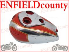 FUEL TANK BARE METAL ARIEL SQUARE FOUR RED HUNTER PAINTED