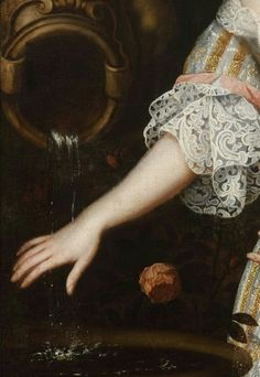 Louise de Keroualle, Duchess of Portsmouth (detail) Henri Gascar Oil on canvas c. 1670