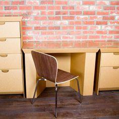 verhuisdozen als meubilair